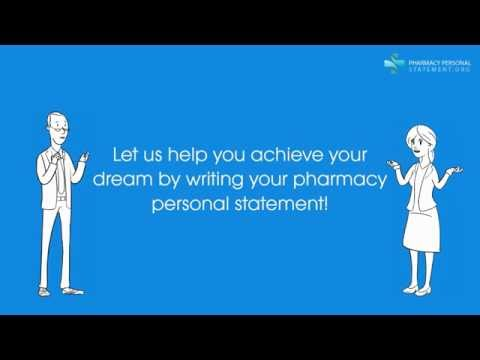 The Best Pharmacy Personal Statement Help