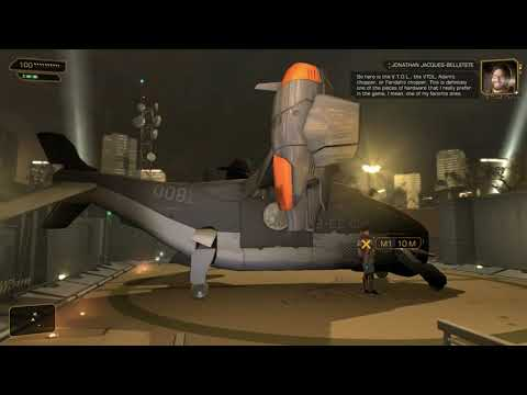 Developer Commentary   Deus Ex Human Revolution Director's Cut   Ep 2   Sarif HQ  