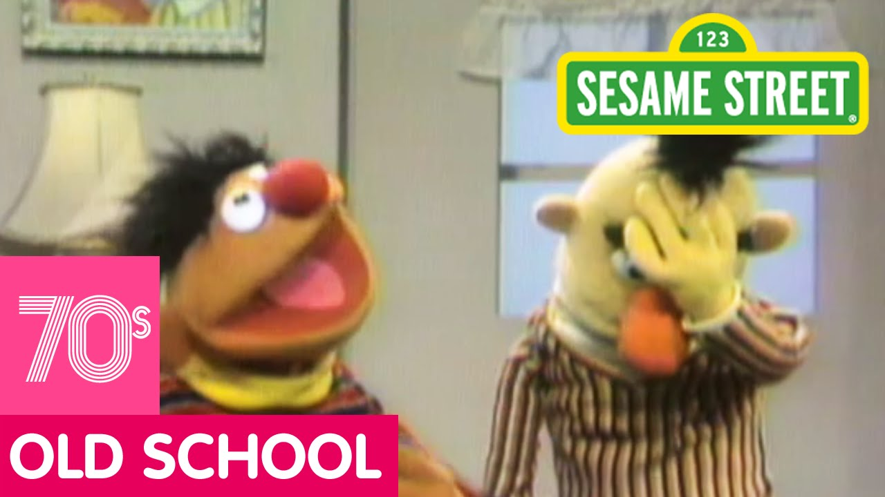 Sesame Street Bert Gets Angry Youtube