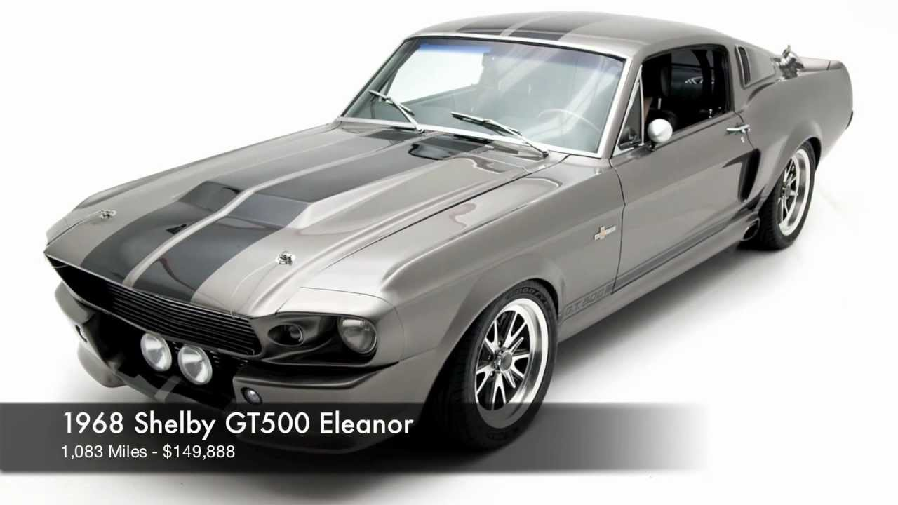 1968 shelby gt500 eleanor for sale