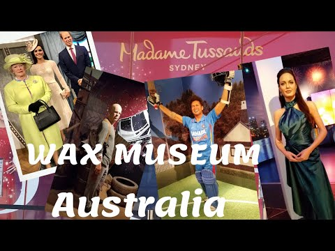 Madame Tussauds Wax Museum II Sydney Australia