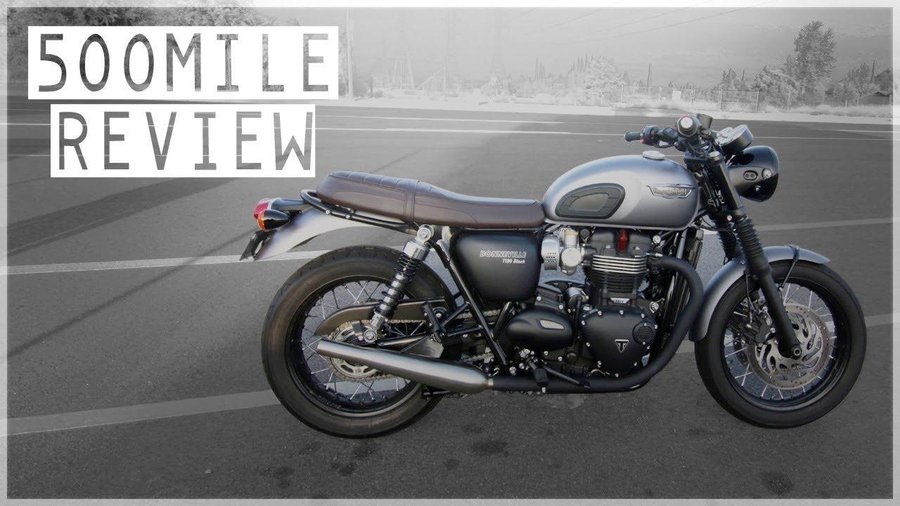 Triumph Bonneville T120 500 Mile Review Walk Around Impressions