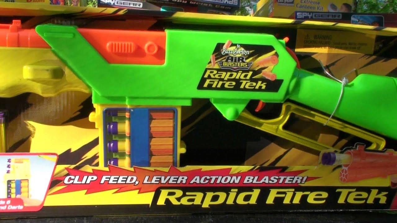 """Винтовка """"Огонь"""" Buzz Bee Toys 46303 AIR BLASTERS, Rapid ..."""