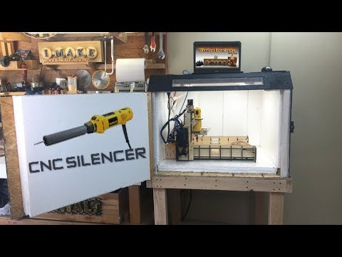 DIY CNC Enclosure - Silenced & Dust Free Solution (Cheap)