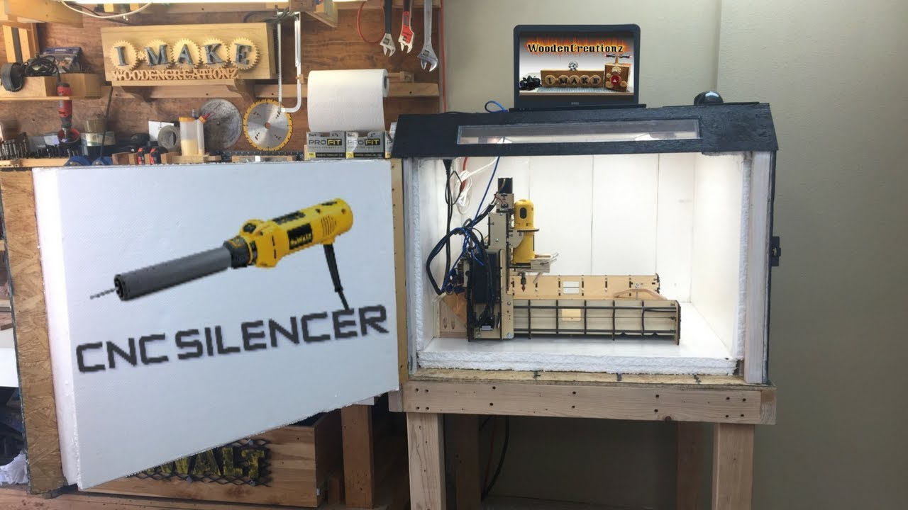 Diy Cnc Enclosure Silenced Amp Dust Free Solution Cheap