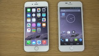 iphone 6 vs goophone i6 benchmark speed test 4k