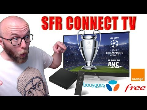 SFR CONNECT TV: LES CHAINES RMC SPORT SUR TOUT VOS ECRANS ET CHEZ TOUT LES FAI