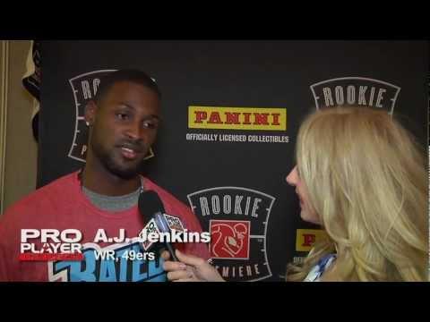 NFLPA Rookie Premiere - A.J Jenkins