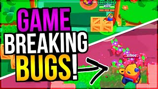15 CRAZY Game Breaking GLITCHES in Brawl Stars History!