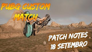 PUBG XBOX ONE:PATCH NOTES - ONE X PERFORMANCE ,BP, Novas Skins #20
