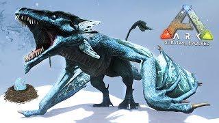 ARK: Survival Evolved - ICE WYVERN DRAGON FAIL!! (ARK Ragnarok Gameplay)