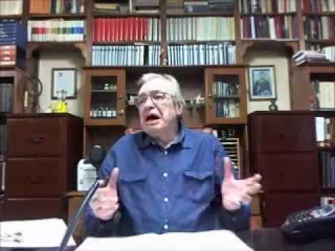 Olavo fala sobre matéria mentirosa de Caco Barcellos