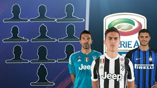 TOP 10 CALCIATORI PIÙ FORTI DELLA SERIE A 2017/2018 FT. Dybala,Buffon,Icardi,Immobile ecc.