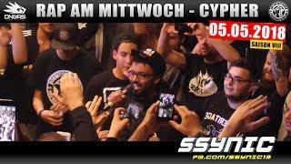 RAP AM MITTWOCH HAMBURG: 05.05.18 Die Cypher feat. SSYNIC, GIER, DROB uvm. (1/4)