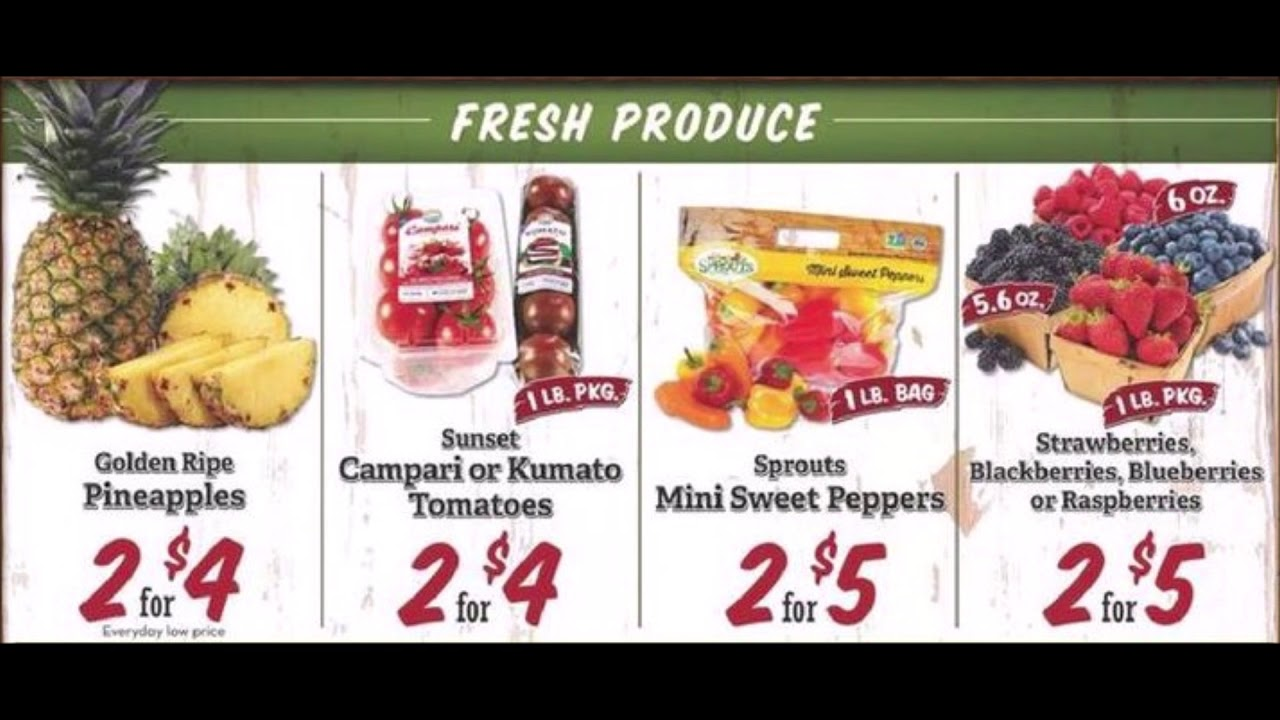 Sprouts Coupon Deals May 1 - 8, 2019 Weekly Ad Preview