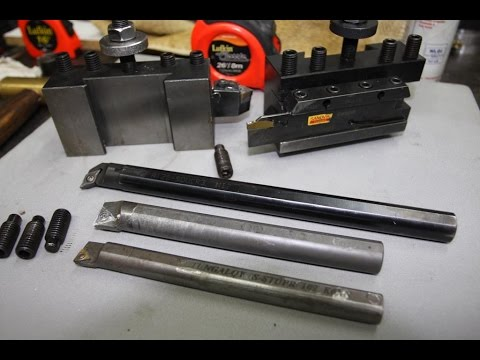 Lathe tool holders and carbide boring bars