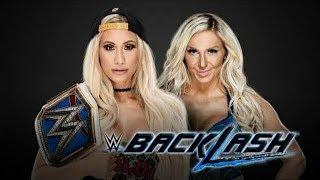 WWE 2K18 BACKLASH 2018 CARMELLA VS CHARLOTTE FLAIR SD WOMEN'S CHAMPIONSHIP MATCH