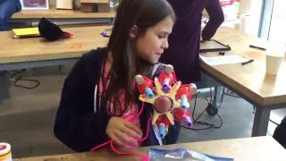 "10-year-old Explains her #SuperheroCyborg Glitter-Shooting Arm (AKA ""Project Unicorn"")"