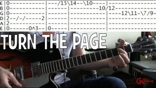 guitar lessons online Bob Seger turn the page tab also Metallica