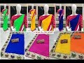 Solid Chanderi Silk n Cotton Sarees on CoD | RV Collections