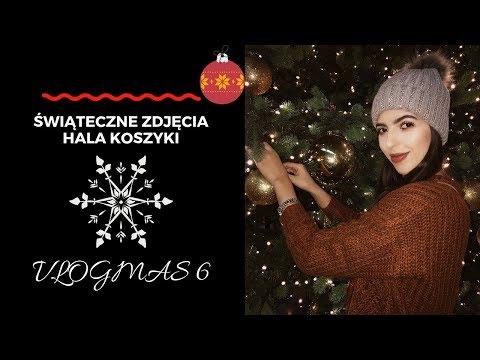 Świąteczne zdjęcia Hala Koszyki VLOGMAS #6