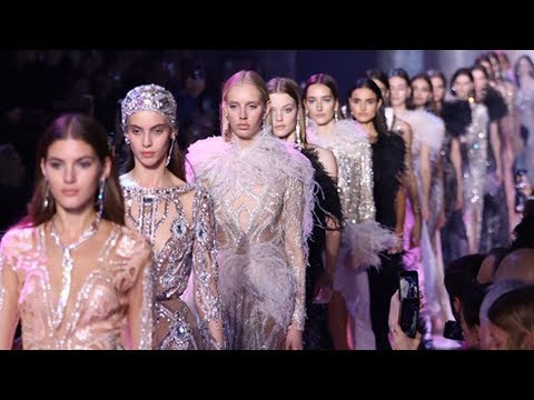 42216e12c46 ELIE SAAB Haute Couture Spring Summer 2018 Fashion Show - YouTube