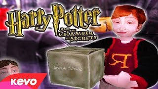 Harry Potter on the PS1 but it's a mess