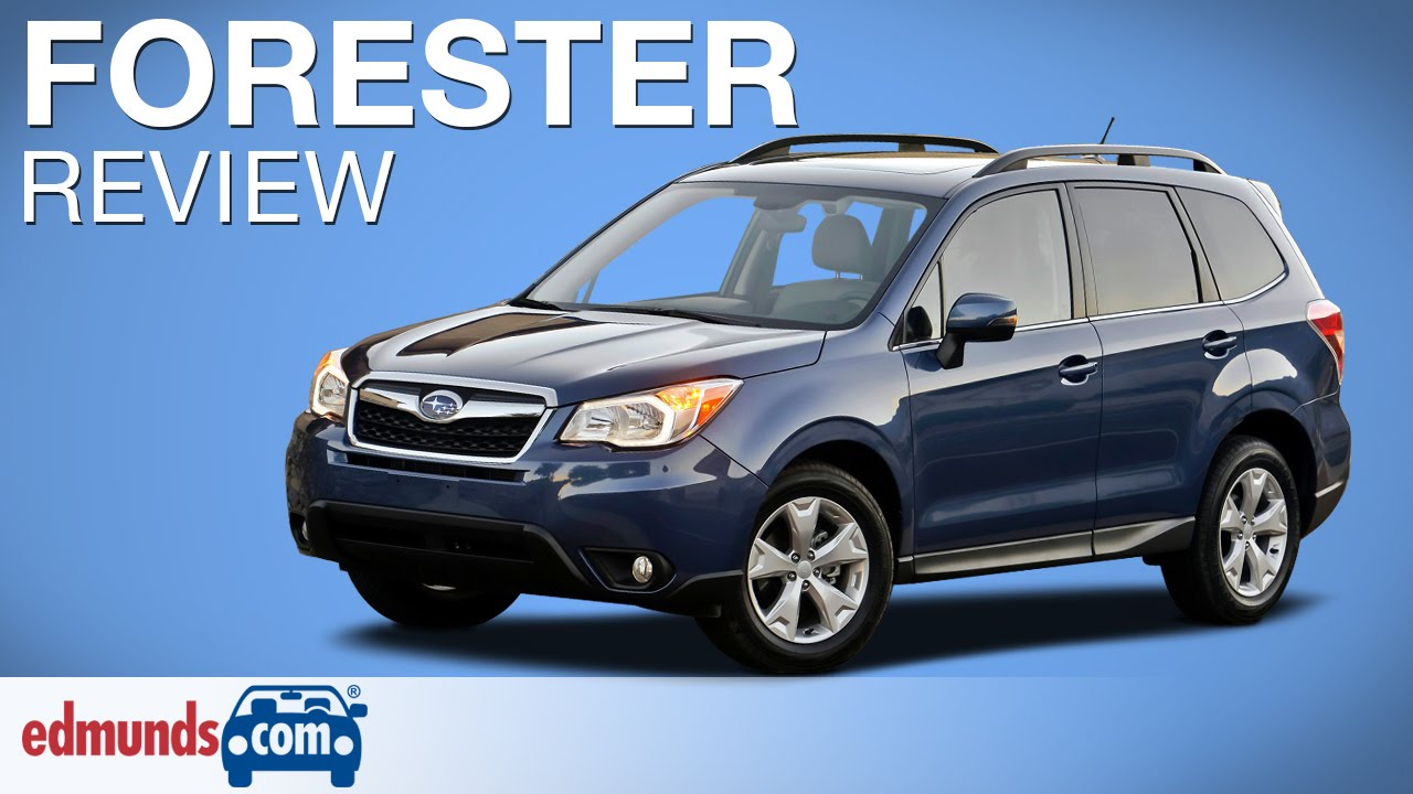 2015 Subaru Forester Review Edmunds Com Youtube