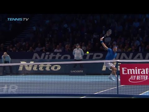 Hot Shot: Federer Follows Finesse With Power At The 2018 Nitto ATP Finals