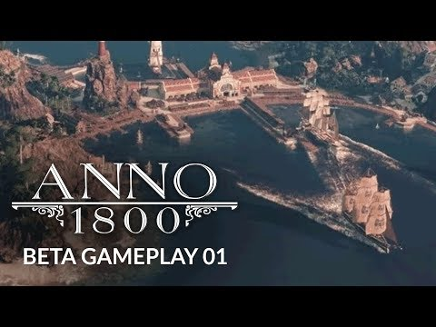 ANNO 1800 | Ep. 1 | A NEW ENTERPRISE - City Building Gameplay (Mini Lets Play)
