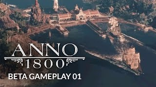 ANNO 1800   Ep. 1   A NEW ENTERPRISE - City Building Gameplay (Mini Lets Play)