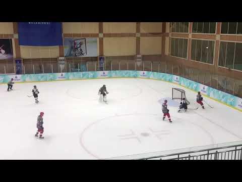 Kerem Tuna Karakurum of Koc University Hockey Team Scores Against Gumus Paten - 3/2/18