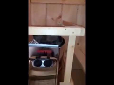 comment construire son propre sauna de a z how to build. Black Bedroom Furniture Sets. Home Design Ideas