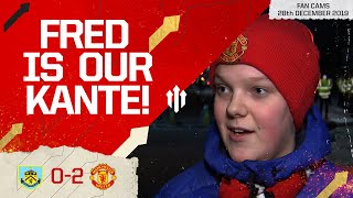 FRED IS OUR KANTE! Burnley 0-2 Manchester United Fancam