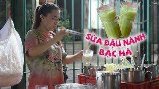 Hơn 40 năm quán sữa đậu nành bạc hà gây ghiền của người Hoa gốc Quảng Đông