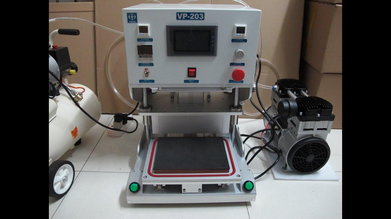 Oca Vacuum Laminator Machine Youtube