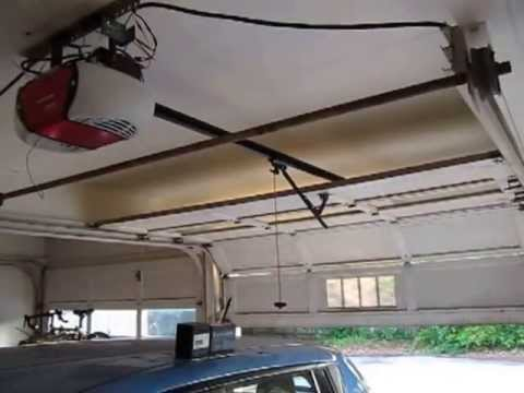 Off grid solar powered garage door opener!