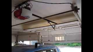 Off Grid Solar Powered Garage Door Opener!