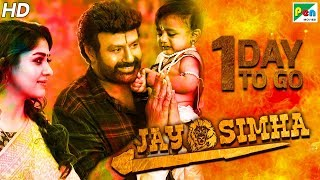Jay Simha | 1 Day To Go | New Action Hindi Dubbed Movie | Nandamuri Balakrishna, Nayanthara