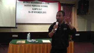 Jackson Ng - Mastermind Entrepreneurship Programme (Institut Pertanian Sarawak) Testimonial Video