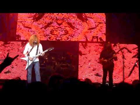Megadeth O2 Glasgow 4th June 2013