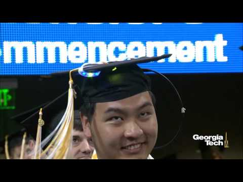 Georgia Tech Afternoon Bachelor's Commencement Spring 2016