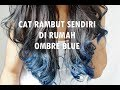TUTORIAL CARA MEWARNAI RAMBUT SENDIRI DIRUMAH || How I Ombre My Hair ?