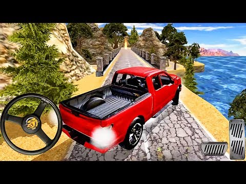Offroad Police Monster Truck Simulator - Offroad Quad Red Jeep Driver - Android GamePlay
