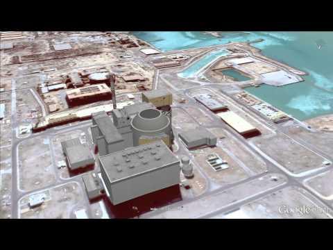 B-roll IRAN Bushehr Nuclear Power Plant