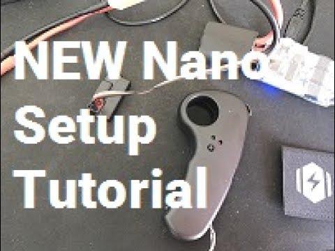 DIY Electric Skateboard: NEW Nano Remote Tutorial & Quick Setup ...