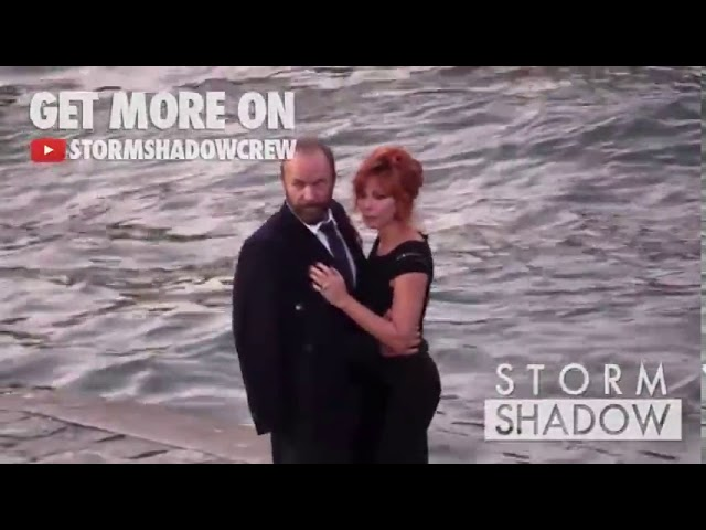 Sting KISSES Mylene Farmer on the set of his latest video clip, Stolen Car Duet   Part 1