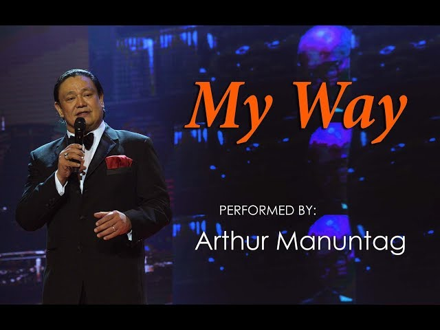 Frank Sinatra My Way - cover by ARTHUR MANUNTAG