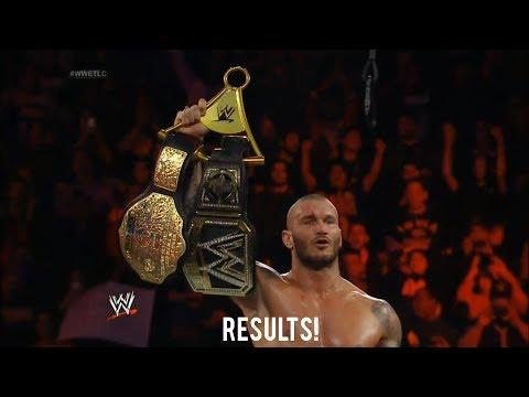 WWE TLC 2013 John Cena vs Randy Orton TLC match to ...  WWE TLC 2013 Jo...