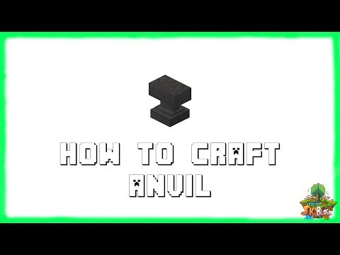 ✔-minecraft-1.15.2:-how-to-craft-anvil!-(2020)